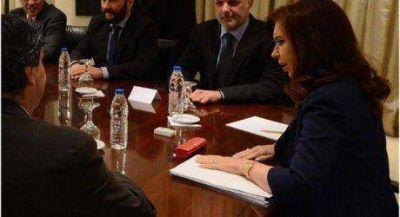 Insfrán con Cristina en la firma de contratos para el GNEA y el Centro de Medicina Nuclear