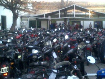Por falta de documentaci�n, la polic�a secuestr� 170 motos en tres d�as