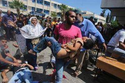 Indignaci�n por otro ataque israel� a una escuela de la ONU