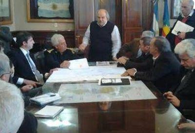 Granados prometió enviar móviles y policías para Luján