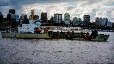 Anuncian la etapa final del dragado del puerto Mar del Plata