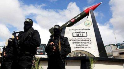 Minutos despu�s de iniciada la tregua, Hamas lanz� 17 misiles contra el territorio israel�
