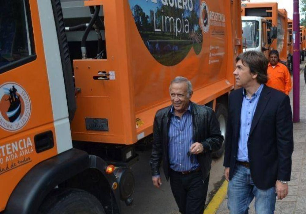 Resistencia tendrá un nuevo sistema de recolección de Residuos: incorporan 21 nuevos camiones compactadores y 200 contenedores