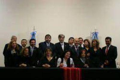Se formó la nueva comisión directiva de la Asociación de Magitrados