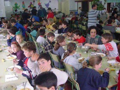 Exceso de mala alimentaci�n en comedores escolares