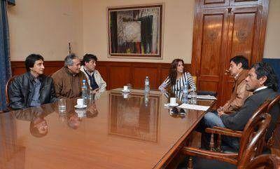 Integrantes de SIVIPSE fueron recibidos por la Gobernadora Claudia Zamora