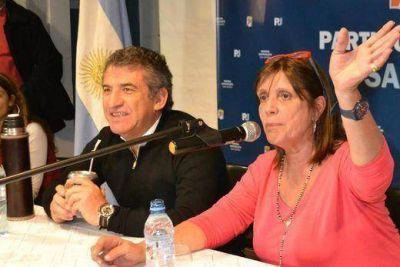 Urribarri visitó el PJ de San Isidro y reafirmó su intención de ser candidato a Presidente