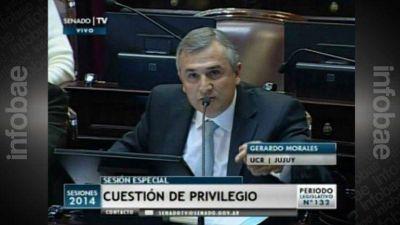Las duras palabras de Gerardo Morales al vicepresidente: