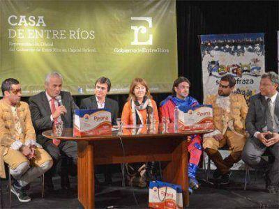 El Gobierno provincial presentó en Buenos Aires la Fiesta de Disfraces de Paraná