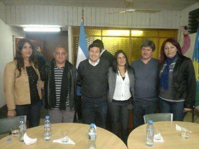 Con un claro mensaje de unidad, Daniel Arroyo encabez� un acto con el FR de Ensenada