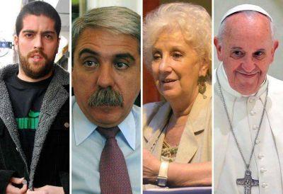 Increíbles vínculos de Callejeros con Carlotto, Aníbal F. y el Papa