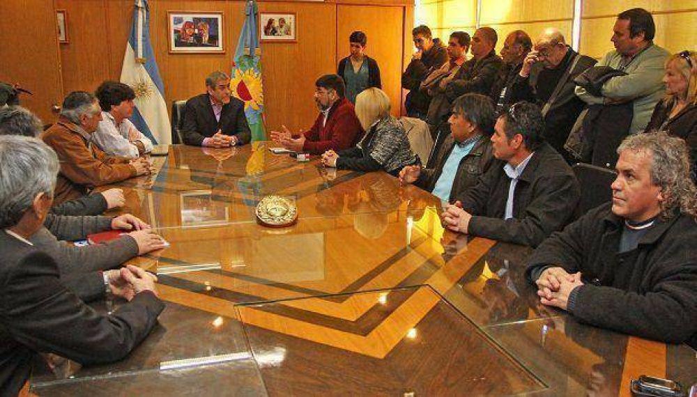 Jorge Ferraresi se reunió con los representantes de la CGT regional Avellaneda – Lanús