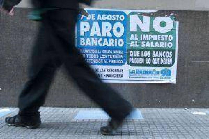 Por paro nacional, bancos no atendieron al público