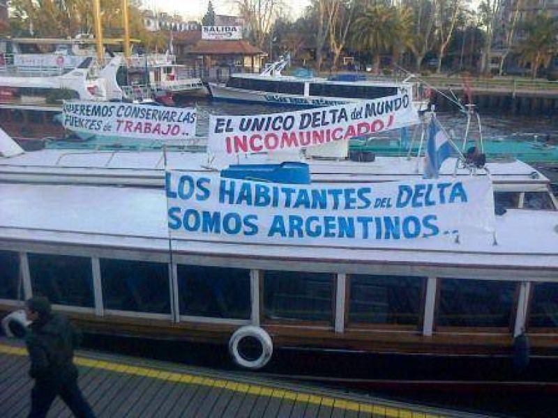 Se restablece el servicio de transporte fluvial en el Delta