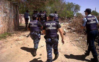 Treinta personas detenidas en operativo policial en Córdoba