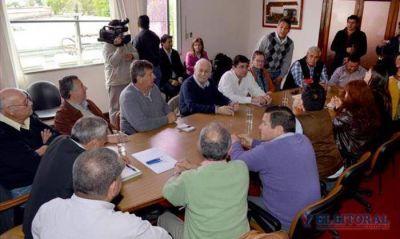 Intendentes del PJ acudirán al STJ para embestir contra el Gobierno provincial