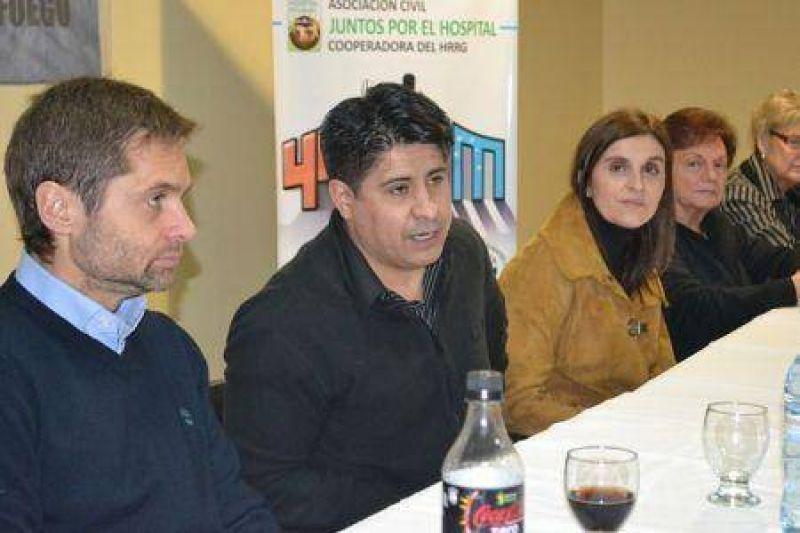 Gastronómicos brindaron su respaldo a la cruzada solidaria