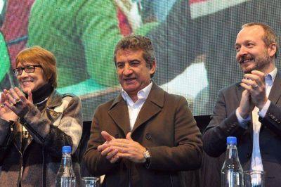 Urribarri, Parodi y Sabatella compartieron un encuentro de Comunicación Audiovisual en Paraná