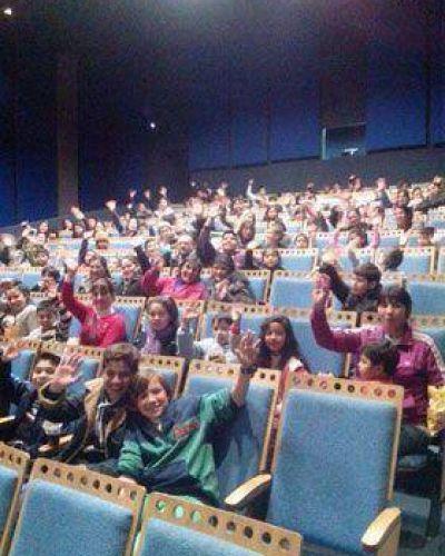 Más de 7000 chicos pasaron por el Cine Wilde durante las vacaciones
