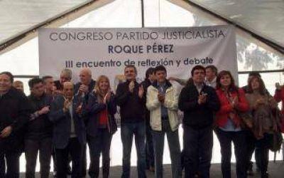 C�nclave en Roque P�rez: PJ Bonaerense pidi� unidad y reafirm� su apoyo a Cristina y Scioli