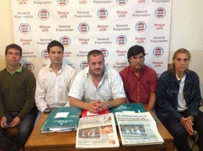 """La UCR local evitará la interna y acordó una lista """"unidad"""" en el Comité"""