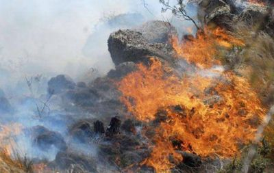 Detienen a un bombero de Cosquín por iniciar incendios