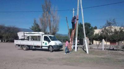 Más de 350 nuevas luminarias en Valle Viejo