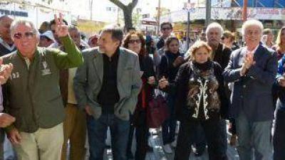 El gastronómico Barrionuevo acompañó a De la Sota en su visita a Santiago del Estero