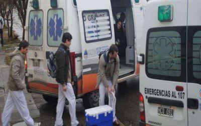 Dos operativos de ablaci�n posibilitaron ocho trasplantes