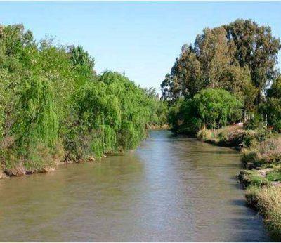 """Río Atuel: Mendoza habla de """"eficiencia"""" en el riego"""