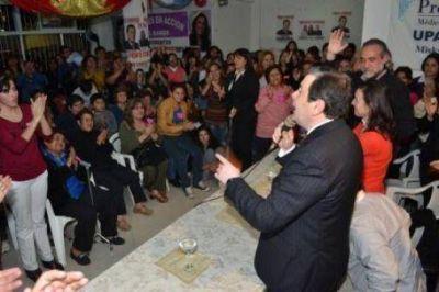 Contundente apoyo a la formula Nassif-Adamo en La Banda