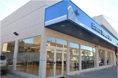 Banco Santa Cruz inauguró el nuevo lobby con 7 cajeros automáticos