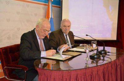La Provincia firmó un convenio con Nación para fomentar la producción ganadera