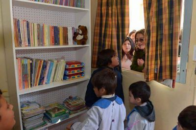 Emotiva visita de Lucía a la Casa Cuna