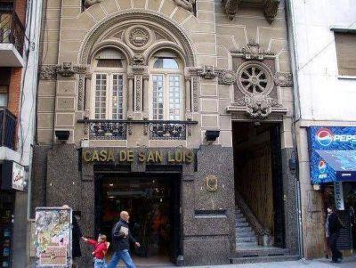 Abdala propone una consulta popular sobre la venta de la Casa de San Luis en Buenos Aires