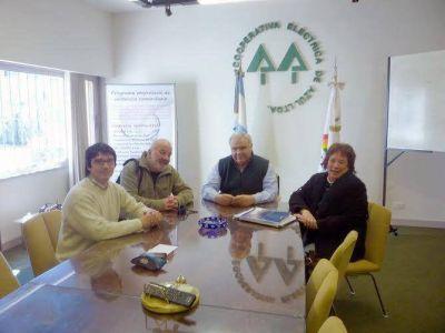 Reunión con autoridades del Consejo Escolar
