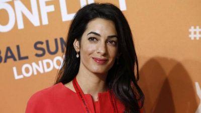 La novia de George Clooney rechaza participar en una investigación de la ONU sobre Gaza