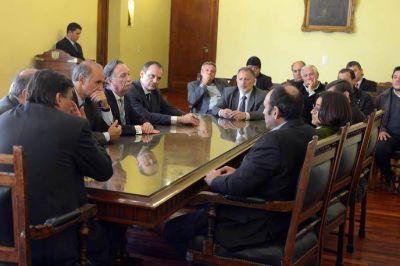 Lucía recibió a integrantes de la Cámara Argentina de la Construcción