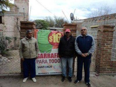 Prosigue la entrega de garrafas Sociales en la ciudad de La Banda