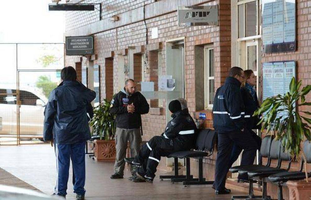 Trabajadores de las aduanas volverán a realizar un paro