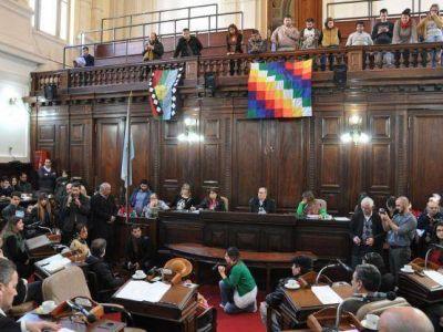 Concejo Deliberante: Varios reconocimientos del cuerpo hacia los pueblos originarios