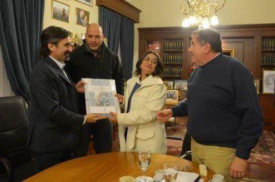 Lucía recibió al secretario de Minería de la Nación, Jorge Mayoral