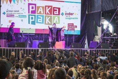 El poder de la imaginación de Pakapaka se hizo canción en los niños azuleños