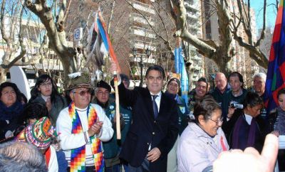 El Intendente encabezó los actos de festejo por el aniversario de la ciudad