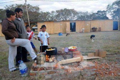 Sigue bajando el río Paraná en la ciudad y más familias pueden volver a sus viviendas