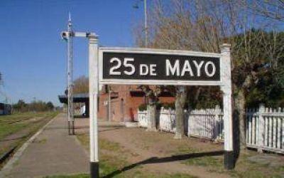 Vuelve el tren que une 25 de Mayo con Constitución