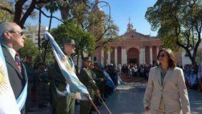 La Gobernadora encabezó los actos en homenaje al General San Martín