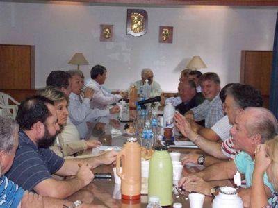 Cruce radial por el gobierno de Larrañaga
