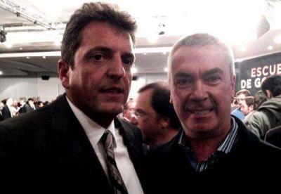 Calamari se mostró con Sergio Massa