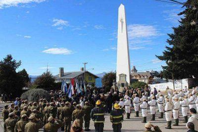 Bariloche recordó al Libertador San Martín
